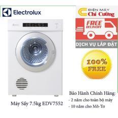 Máy sấy quần áo Electrolux EDV7552-7.5kg(Trắng)