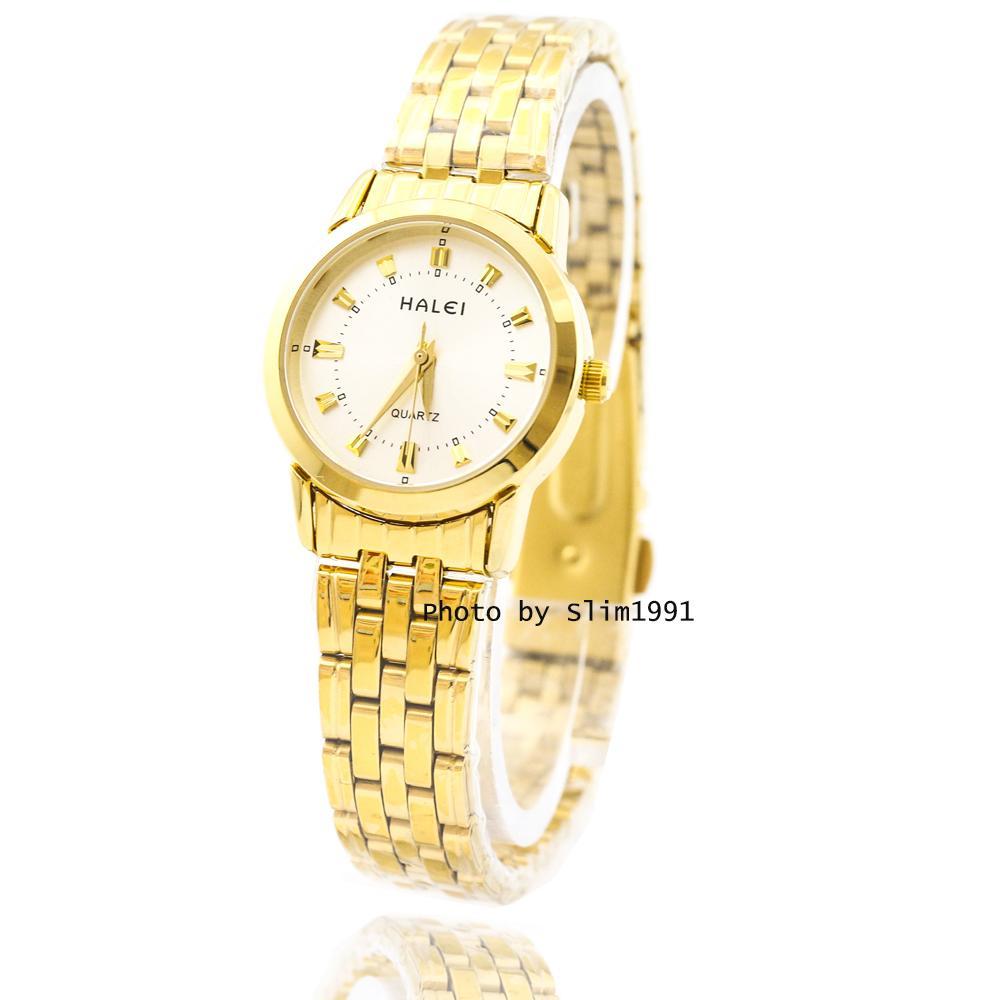 (GIÁ CỰC TỐT)Đồng hồ nữ mạ vàng cao cấp Halei HL4404 – CHỐNG NƯỚC TUYỆT ĐỐI