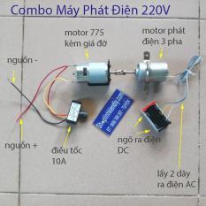 combo chế máy phát điện mini