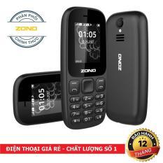 ĐTDĐ ZONO N105 2 Sim Có Camera (Bảo hành 12 tháng) – Đen