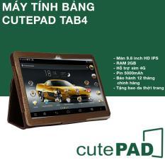 Máy tính bảng cutePAD 2018 M9601 Wifi/3G 2GB RAM 9.6″ IPS – Phân phối độc quyền Thịnh Long (Gold)