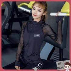 Áo khoác thể thao nữ Power – Cửa hàng phân phối KIT Sport – Hàng nội địa Trung(Women Coats,đồ tập quần áo gym,mẫu dài, thể dục,thể hình, áo ngoài, Yoga, Aerobic,Zumba Fitness)