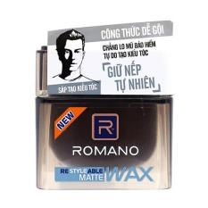 Sáp tạo kiểu tóc Romano Matte 68g