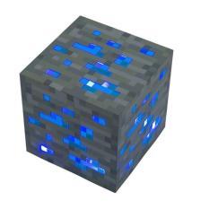 Aukey Minecraft Kim Cương Ánh Sáng Đêm Lên Đèn Redstone Quặng Cube Màu Xanh Quà Tặng Đồ Chơi