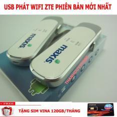 ZTE MF70 21.6MBPS – USB 3G 4G PHÁT WIFI TỐC ĐỘ TÀU ĐIỆN – TẶNG SIM 4G VINA 120GB