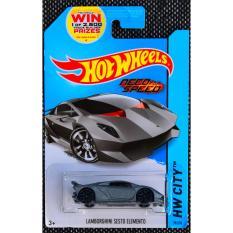 Ô tô mô hình tỉ lệ 1:64 Hot Wheels Sesto Elemento Need For Speed 39/250 ( Màu Xám )