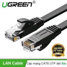 Cáp mạng Cat6 aluminum dạng dẹt dài 5m UGREEN NW102 50176 – Hãng phân phối chính thức
