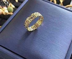 Nhẫn kim tiền mạ vàng 24k phong thủy tài lộc may mắn