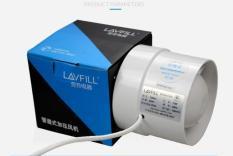 Quạt thông gió lắp đặt đường ống phi 100mm phổ biến nhất thị trường