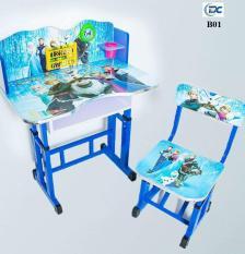 Bộ bàn ghế học cho bé cấp 1-2 , tăng giảm được độ cao