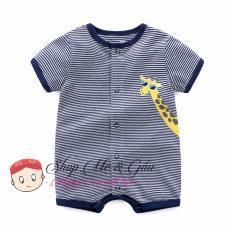 Bộ áo liền quần cao cấp cho bé trai 6 tháng đến 18 tháng