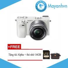 Sony Alpha A6000 KIT 16-50mm F/3.5-5.6 OSS tặng kèm túi + thẻ nhớ – Hãng phân phối chính thức