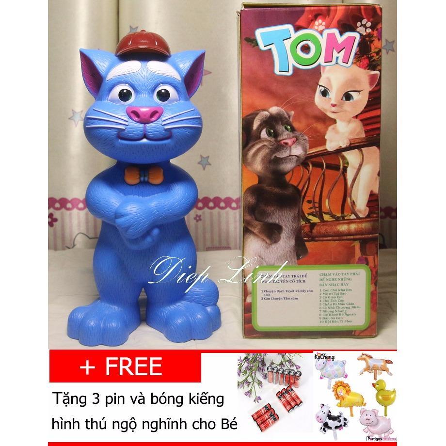 Mèo Tom kể chuyện biết hát thông minh(xanh)- Diệp Linh TOM5