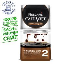 NESCAFÉ CAFÉ VIỆT CÀ PHÊ RANG XAY VỊ NGUYÊN CHẤT 2 (gói 250g)