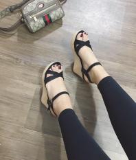 [SenXanh] Sandal đế xuồng quai chéo