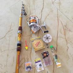 Bộ cần câu shimano 3m hoặc 3m9 – Máy yumoshi BL 6000 ( đồ câu cá Giang Nam ) big sale