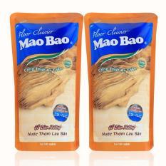 Bộ 2 túi nước thơm lau sàn Mao bao 1000ml – Hương gỗ đàn hương
