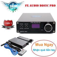 DAC & Ampli cao cấp FX Audio D802C Pro 80W*2 24Bit/192KHz Bluetooth 4.2 + Điều Kiển + Quà Tặng