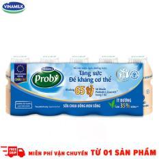 Thùng 50 Chai sữa chua uống Probi Ít Đường 65ml