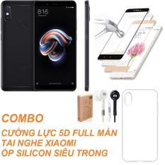 Xiaomi Redmi Note 5 Pro 32GB Ram 3GB (Đen) + Cường lực 5D Full màn + Ốp lưng + Tai nghe – Hàng nhập khẩu Đang Bán Shop Online 24 (Hà Nội)