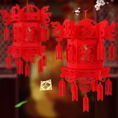Good Luck Chinese New Year Red Fu Hanging Lanterns Chinese Spring Festival Wedding Restauran Decoration