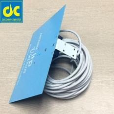 Anten tivi thu sóng DVB-T2 (HDG) + Tặng kèm 13m dây cáp có jack