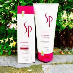Cặp gội xả nhỏ giữ màu tóc nhuộm SP Color Save