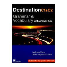 Sách – Destination Grammar & Vocabulary with Answer Key C1 &C2 (hot)