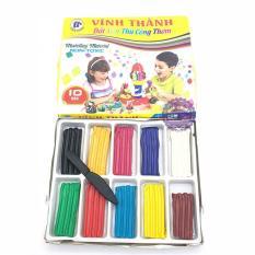 Hộp đồ chơi đất sét nặn thủ công thơm Vĩnh Thành (10 màu) – ĐỒ CHƠI CHỢ LỚN