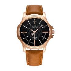 Đồng hồ nam dây da thời trang cao cấp Yazole N03(Cập nhật 2019)