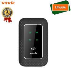 Bộ phát Wifi di động 4G Tenda 4G180 (Đen) – Hãng phân phối chính thức