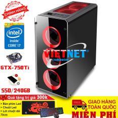 Máy tính chơi game core i7 – 3770, Ram 8gb, SSD 240gb, Card GTX 750ti (chuyên LOL, fifaonline 4, PUBG, Stream). Tặng combo bàn phím, chuột chuyên game