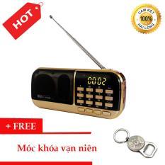 Đài Radio MP3 USB, máy nghe nhạc cầm tay Walkman – B871 + Tặng Móc Khóa Vạn Niên