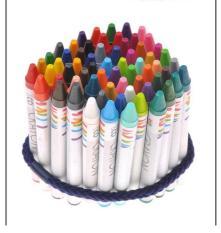 Hộp bút màu sáp 64 màu cho bé(Butmau-hop64)