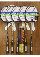 Bộ 2 Vợt cầu lông Yonex tập luyện khuyến mãi hộp cầu basao 10 quả