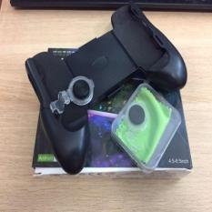 ( COMBO ) ( Giá SỐC )Tay cầm chơi game Liên Quân,PUPG kiêm giá đỡ điện thoại có nút bấm – Gamepad ( Tặng 2 Nút joystick)