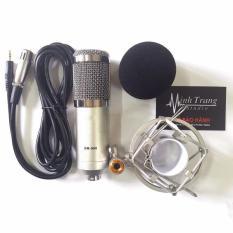 Nguyên Bộ Micro Livestream Thu Âm Chuyên Nghiệp Tặng Chân Mic (Đen) Và Bông Lọc Âm Studio