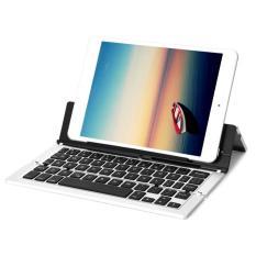 Bàn Phím Bluetooth dùng Cho điện thoại, ipad, máy tính Bảng Keyboard kiêm giá đỡ PKCB 18 nhập khẩu cao cấp PF40