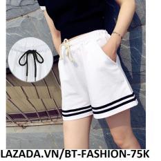 Quần Sọt Đùi (Short) Thun Thể Thao Thời Trang Hàn Quốc Mới – BT Fashion (SOTT-2SN)