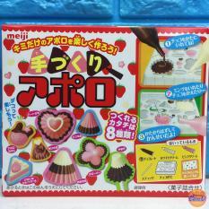 Popin Poppin Cookin Meiji làm Nấm Chocolate Dâu