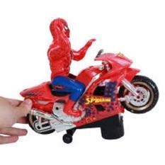 Đồ chơi người nhện đi xe máy phát nhạc, Do choi nguoi nhen biet di co nhac, Đồ chơi spiderman