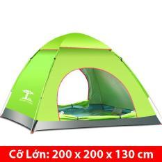 Lều Cắm Trại 4 Người Loại Tốt 200 x 200 x 130 cm (Loại Tự Bung)