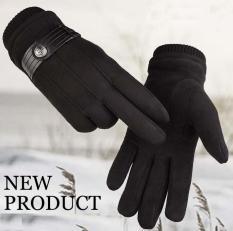 Găng tay da nam, Bao tay da nam mùa đông cao cấp giữ ấm thời trang mới nhất-GTNCC01
