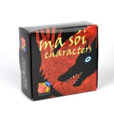 Bộ bài Ma Sói Characters Cơ bản Việt Hoá Boardgame