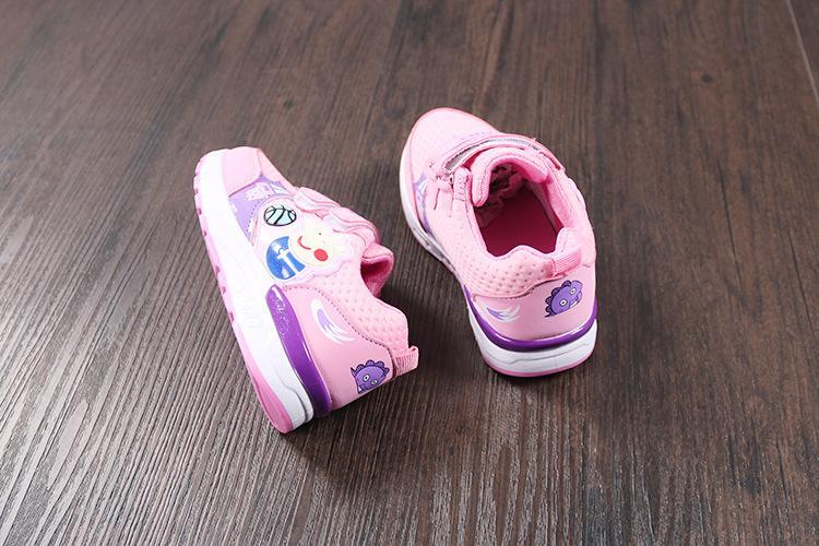 Giày thể thao cho bé gái Size 28-33 RS129 (Màu hồng)