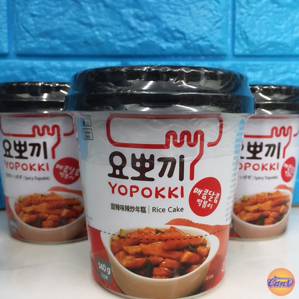 Bánh gạo Hàn quốc Topokki Cay Ngọt