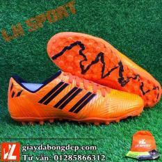 Giày đá bóng cỏ nhân tạo NEMEZIZ MESSI màu cam đồng siêu đẹp, siêu bền, đã khâu mũi chắc chắn