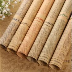 Giấy Báo Gói Hoa Vintage cuộn 20 Tờ – KT010