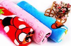 Chăn mền trẻ em vải nhung mềm mịn – hàng VN loại tốt (115x100cm)