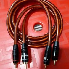 cặp dây jack AV ( RCA ) hàng xịn jack nakamichi , dây usa màu vàng mật ong dài 1m